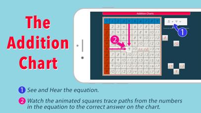 Montessori Addition Charts screenshot 2