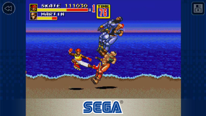 Screenshot from Streets of Rage 2 Classic