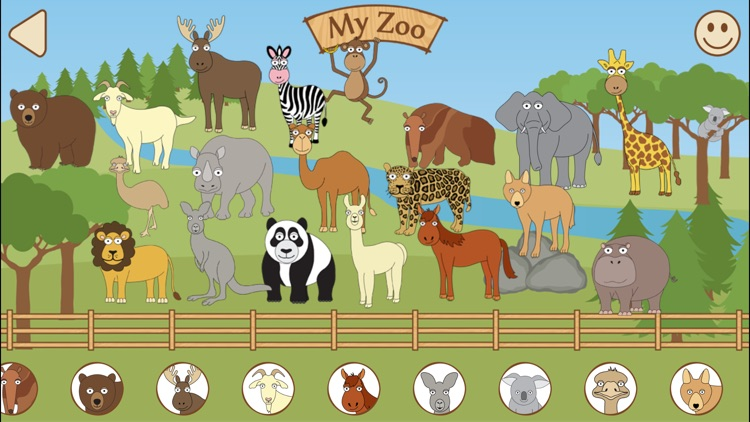 Toddler Puzzle Zoo Animals screenshot-3