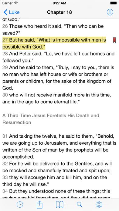VerseWise Bible RSV Screenshot