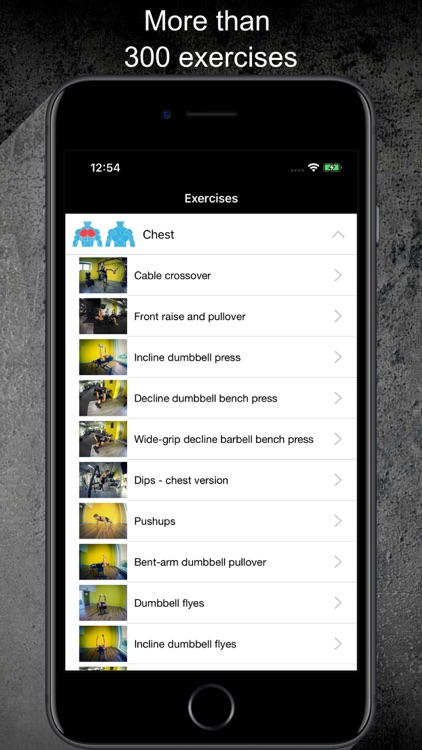 Gym Guide Pro workouts screenshot-3