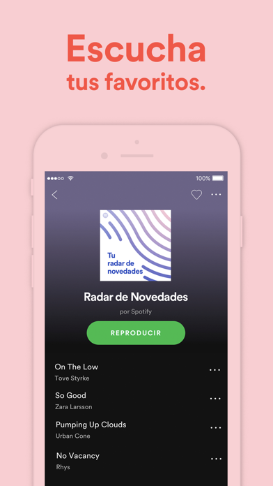Screenshot for Spotify: Música y podcasts in Colombia App Store