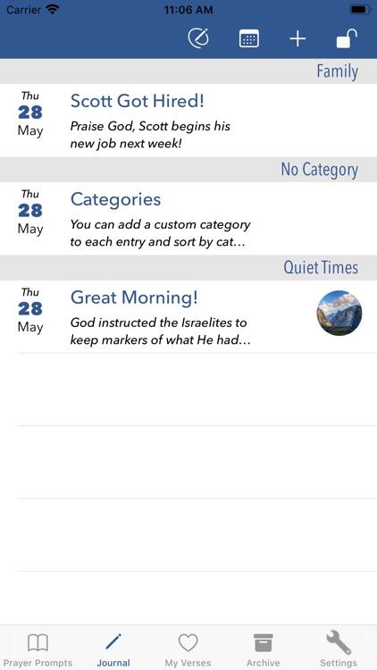 Prayer Prompts Journal screenshot-3