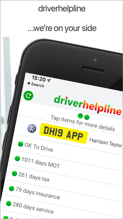 driverhelpline - on your side