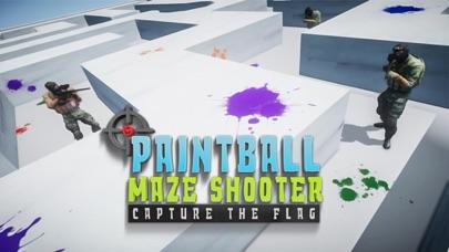 Paintball Maze Fps Shooter Screenshot