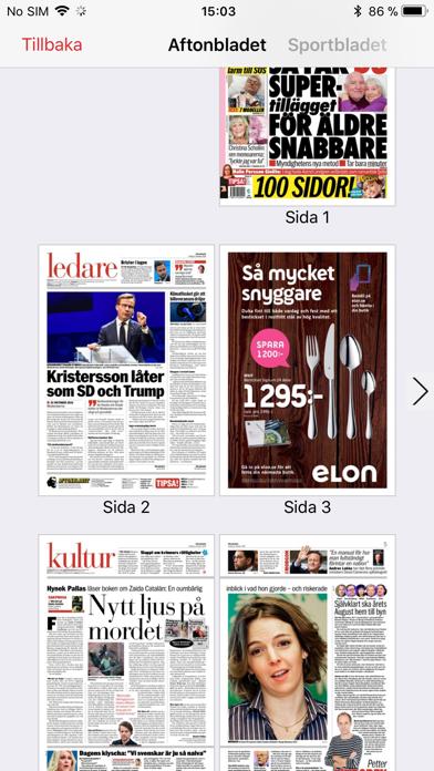 Aftonbladet Tidning review screenshots