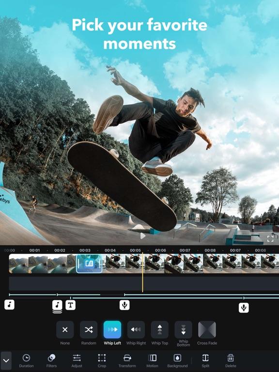 Splice - Free Video Editor + Movie Maker by GoPro screenshot