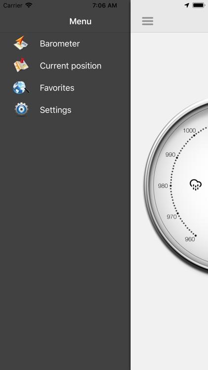 Barometer-Atmospheric pressure screenshot-3