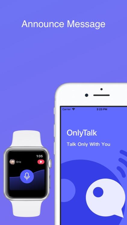 OnlyTalk - Walkie Talkie