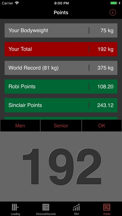 Olympic Weightlifting App screenshot-3