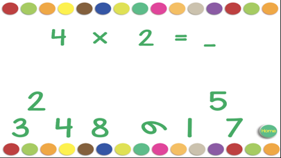 Multiplication Division Cards screenshot three