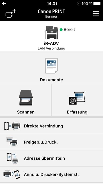 Screenshot for Canon PRINT Business in Austria App Store