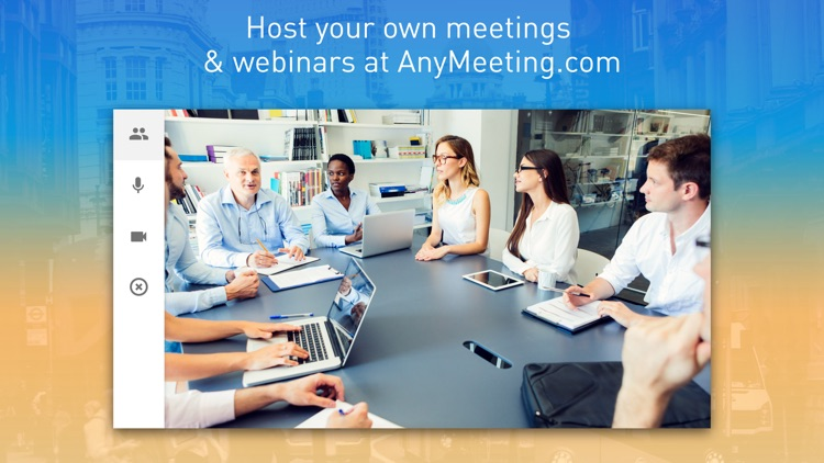 AnyMeeting Webinars screenshot-3