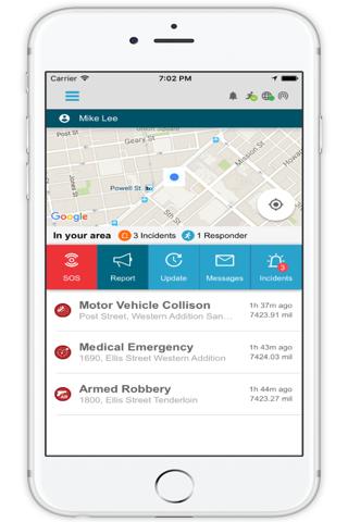 Purvis Mobile Alerting - náhled