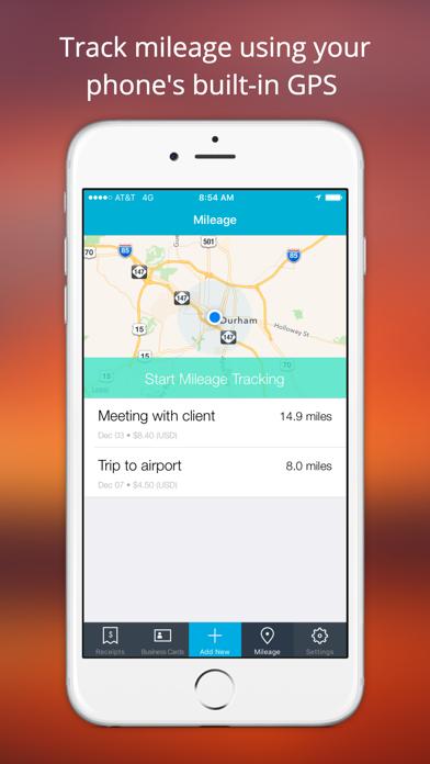 Shoeboxed Receipt Tracker Screenshot