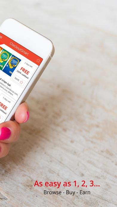 CheckoutSmart Grocery Cashback screenshot two