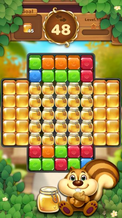 Jewels Garden : Blast Puzzle screenshot 1