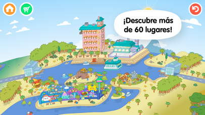 Screenshot for Toca Life: World in Mexico App Store