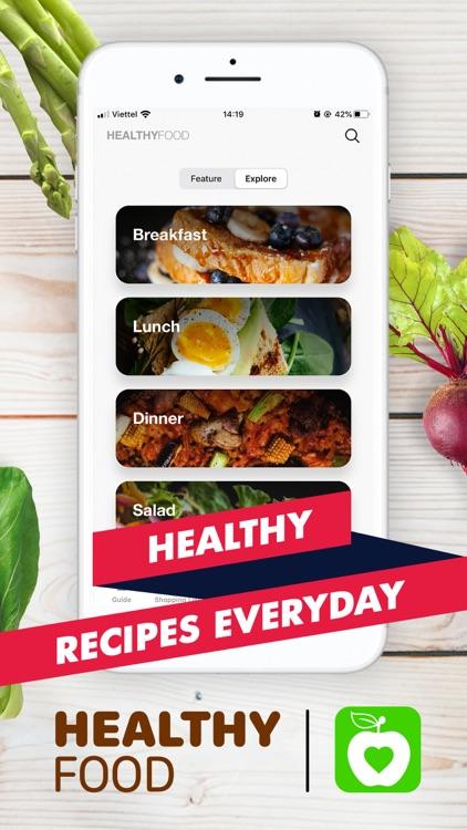 Healthy Recipes - Tasty Food screenshot-0