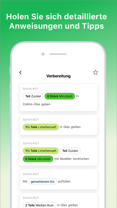 Screenshot for Cocktail Flow in Germany App Store