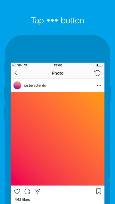 Repost for Instagram ゚ screenshot one