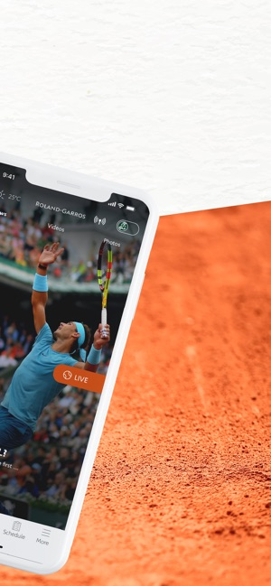 Roland Garros Calendario.Roland Garros Official On The App Store