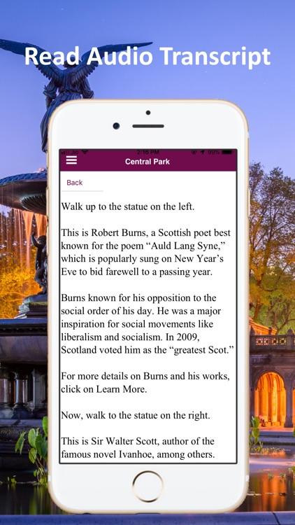 Central Park New York Guide screenshot-5