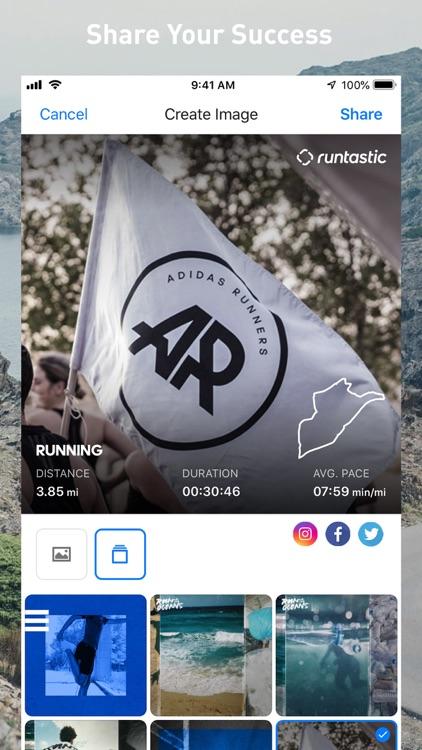 Runtastic Fitness Running App screenshot-4