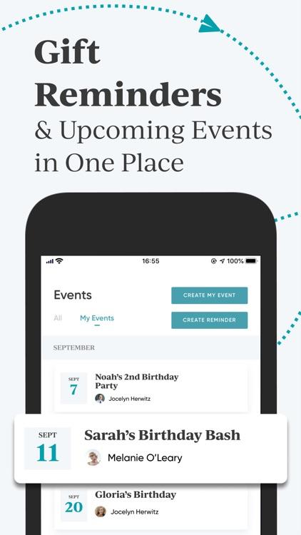 Shopafor: Gift Registry App screenshot-3