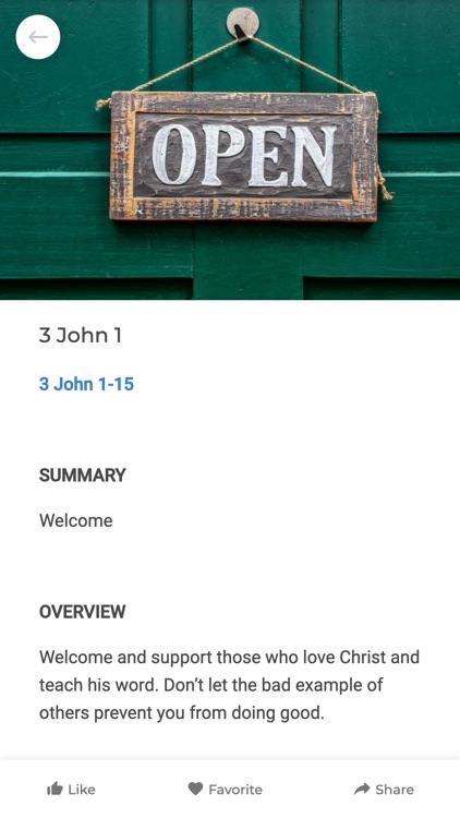 Bottom Line Bible