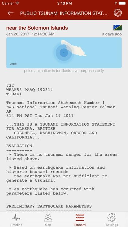Earthquake - alerts and map screenshot-4
