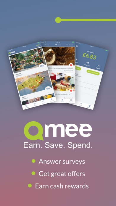 Qmee Surveys screenshot one