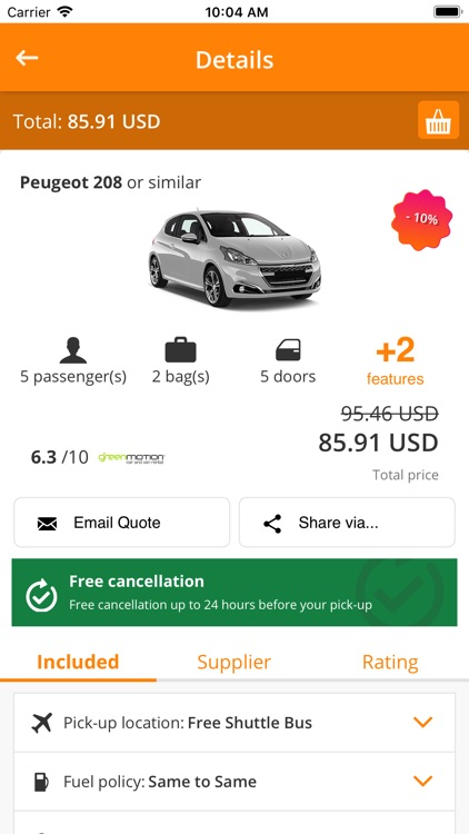 IzziRent Car Rental screenshot-4