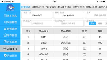 Screenshot #2 pour 利德进销存
