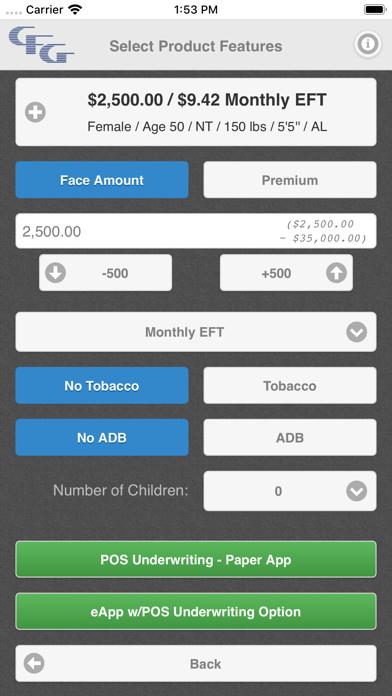 CFG Final Expense CalculatorScreenshot of 5