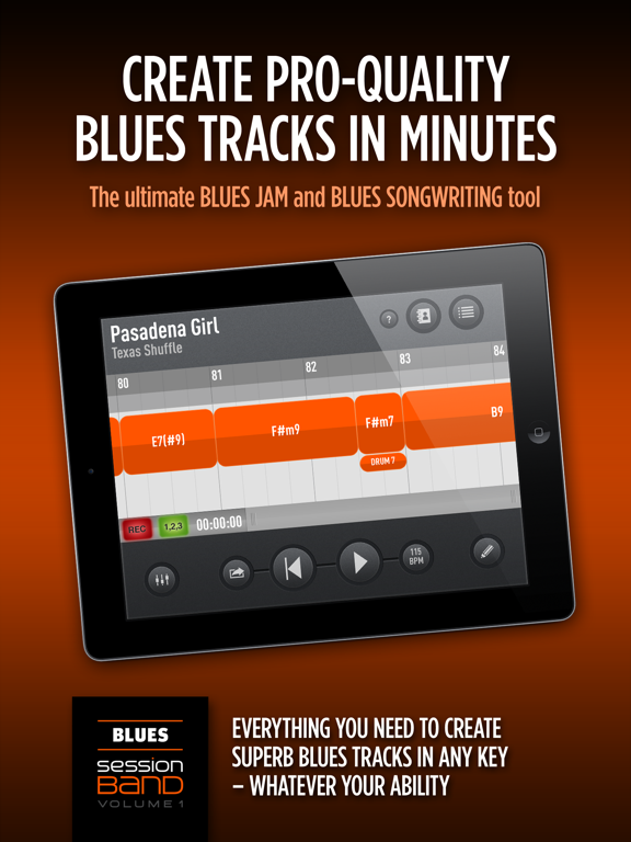 SessionBand Blues 1