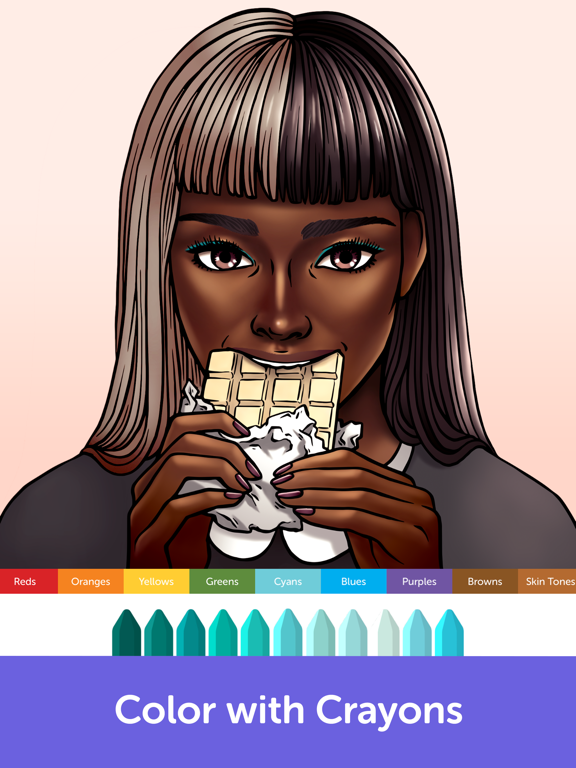 iPad Image of Recolor - Coloring Book