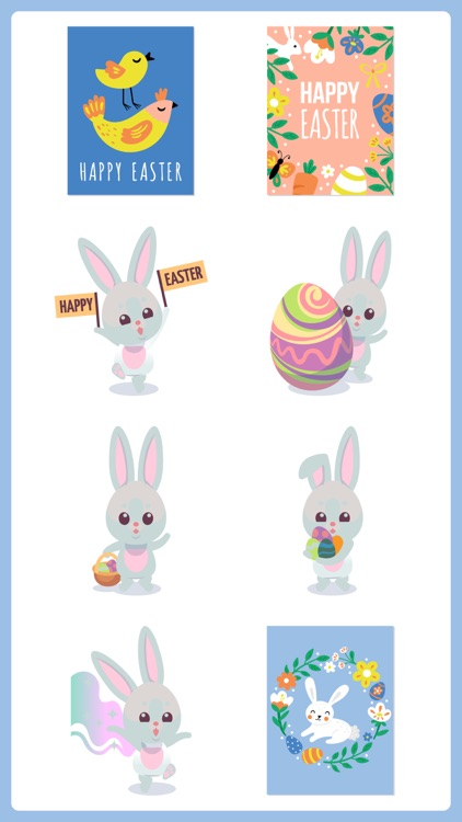 Easter Countdown Stickers Pack