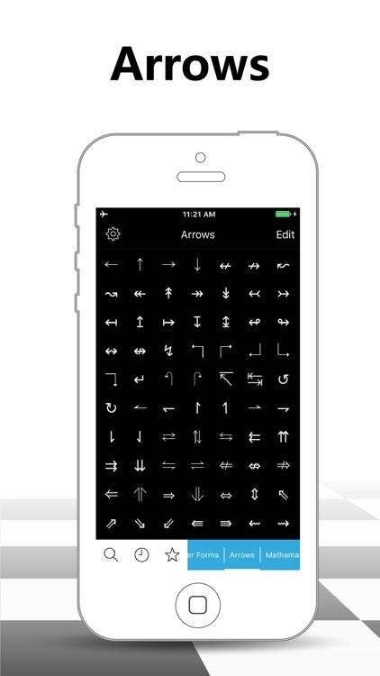 Symbol Keypad for Texting