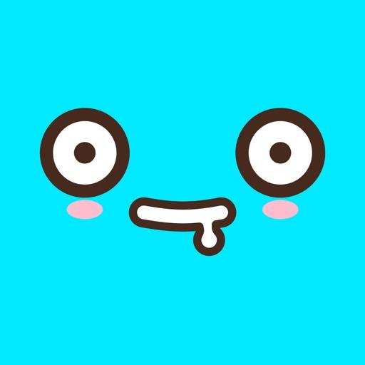 Cute Emoji Faces: Anime, Manga