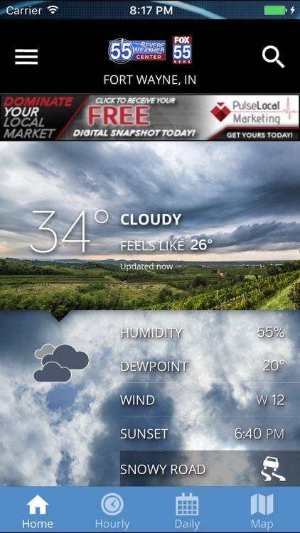 FOX 55 Severe Weather Center