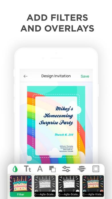 Invitation Maker- Invite Maker Screenshot