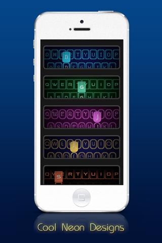 Neon Keyboard™ - náhled