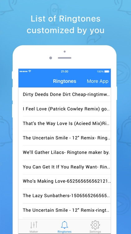 Easy Ringtone Maker Unlimited screenshot-3
