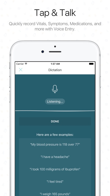 The Diary Health App screenshot-2