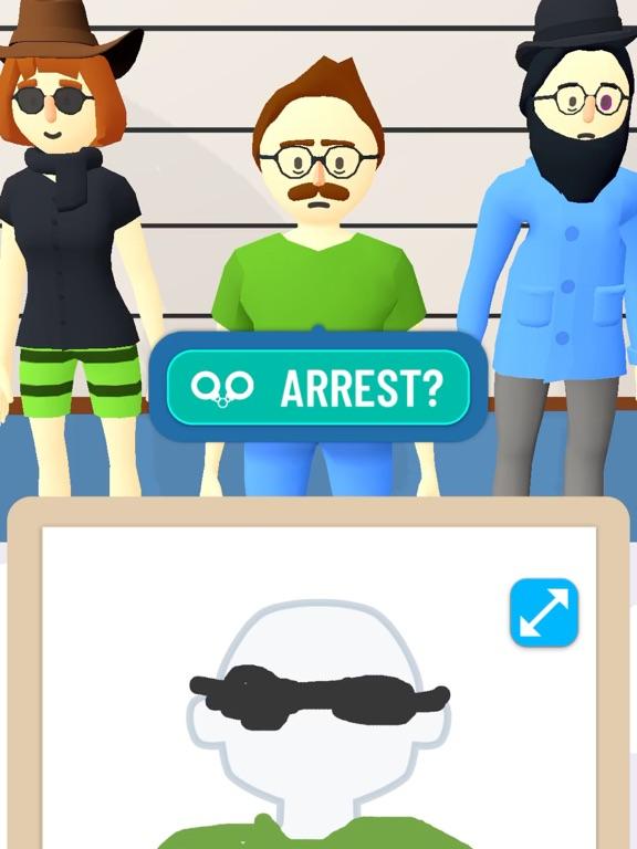 iPad Image of Line Up: Draw the Criminal
