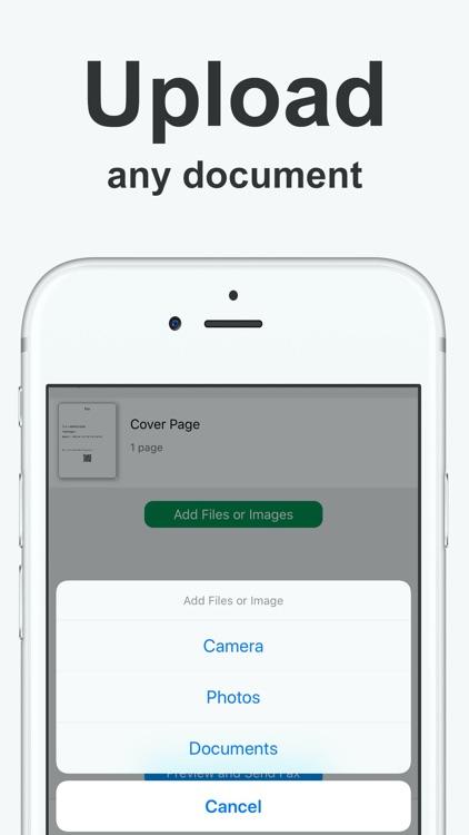 Fax from iPhone Send & Receive screenshot-3
