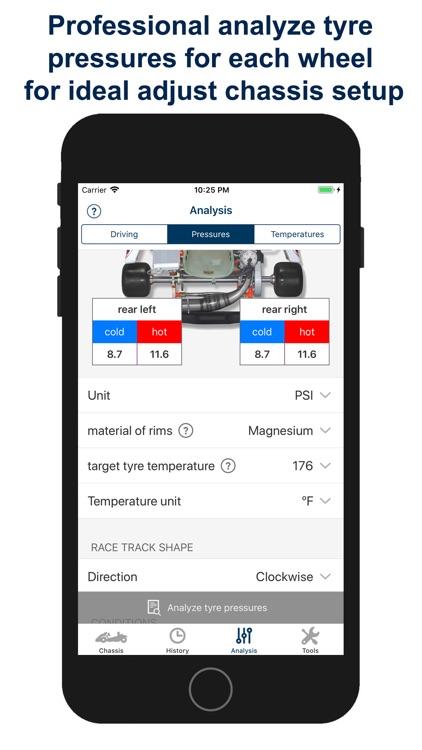 Kart Chassis Setup PRO screenshot-4