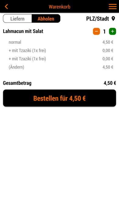 Pizza Post LieferserviceScreenshot von 2