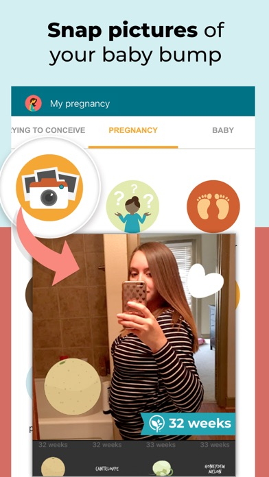 Pregnancy Tracker review screenshots